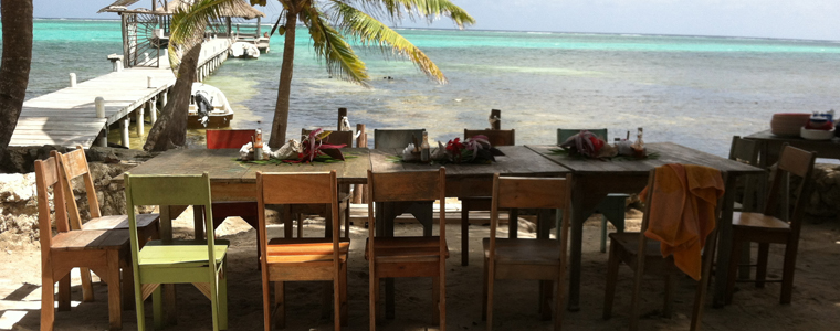 Ladies Luncheon at Ak'bol Yoga Retreat & Eco Resort, San Pedro Town, Ambergris Caye, Belize